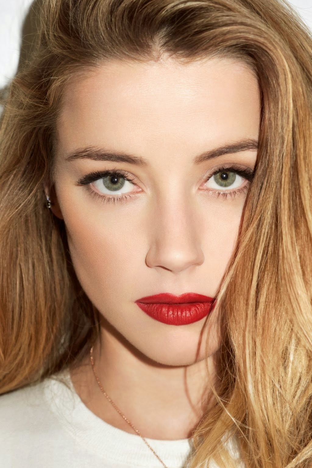 Amber Heard Is The Most Scientifically Beautiful Woman: Amber Heard Is Sultry For Interview Magazine June 2015