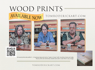 Wood Prints Now Available by Tom Roderick Art