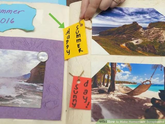 Scrapbooks Anı Defteri Nasıl Hazırlanır