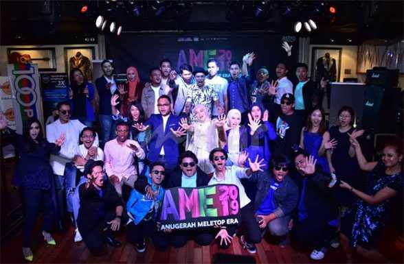 Keputusan Anugerah Meletop Era AME 2019