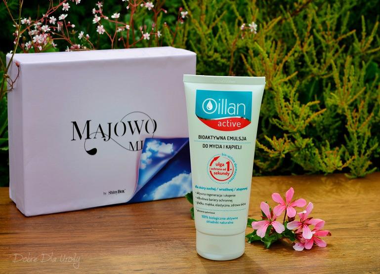 ShinyBox Majowo Mi - recenzja Oillan Bioaktywna emulsja do mycia i kąpieli
