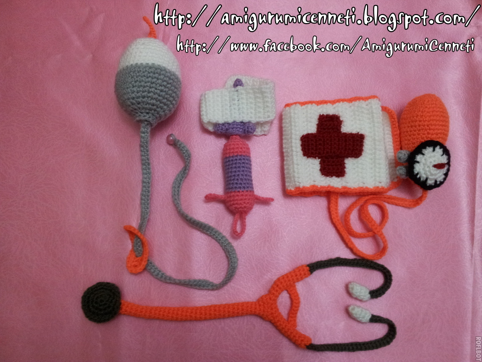Amigurumi Bayan Doktor - Amigurumi Doctor (Görüntüler ile) | Kroşe ... | 720x960