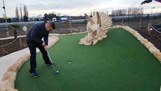 Dino Falls Adventure Golf at Trafford Golf Centre