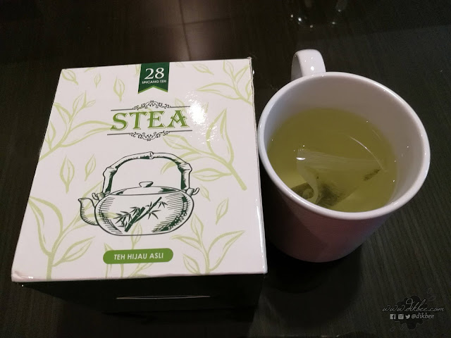 Misi Kurus Dengan STEA Pure Green Tea