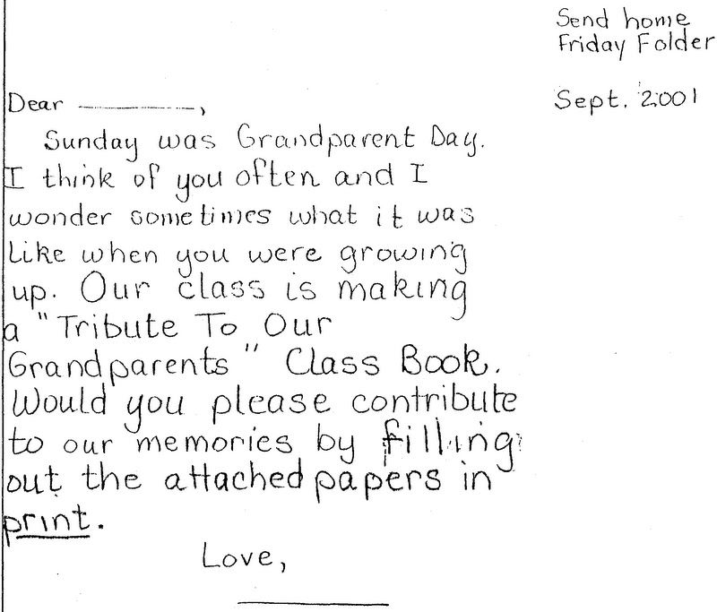 ELEMENTARY SCHOOL ENRICHMENT ACTIVITIES: September 2011