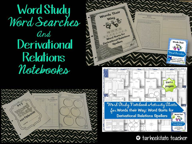 Words Their Way Derivational Relations Word Study Sort 29 ...