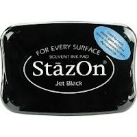 Stazon Inkjet Black