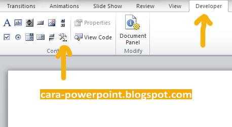 Cara Memasukkan FLV ke Powerpoint