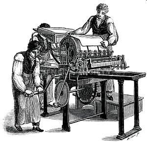Resultado de imagem para invenção da imprensa
