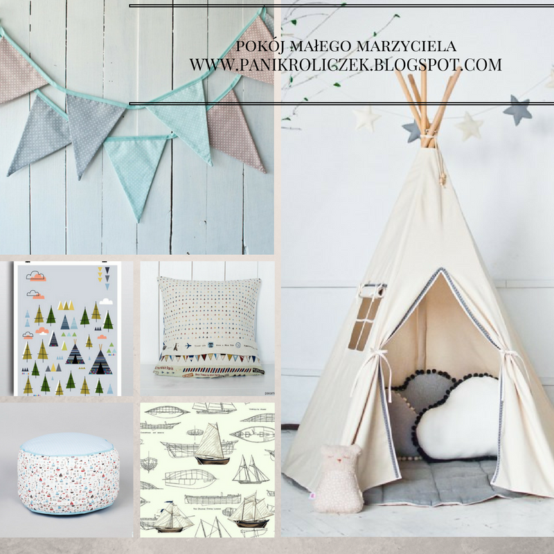 pokój dla dziecka w stylu skandynawskim, tapety do pokoju dziecięcego
