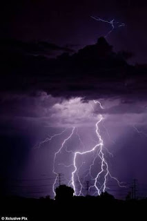 In Lagos State :Lightning Strikes Man Dead