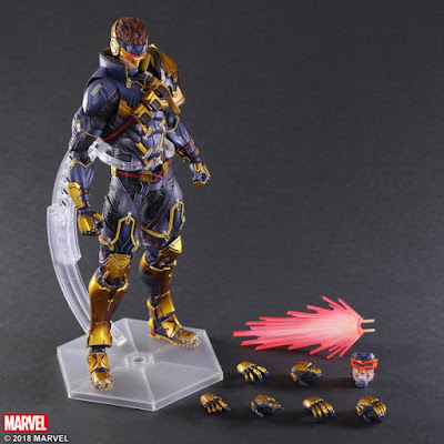 "Cyclops Variant Play Arts Kai de ""Marvel Comics"" - Square Enix"
