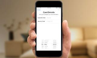 Thêm thẻ của bạn tín dụng vào iphone