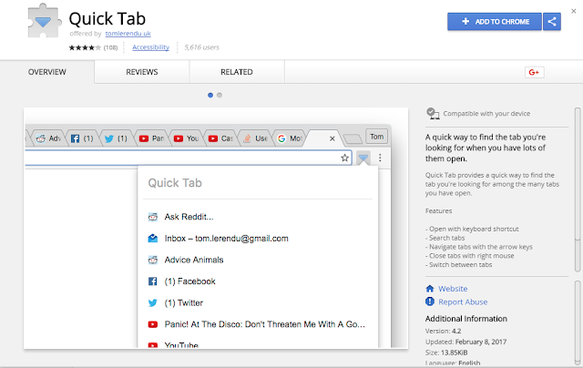 Top 10 - Best Google Chrome Tab Manager Plugins/Extensions
