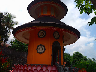 pagoda building at brahmavihara arama