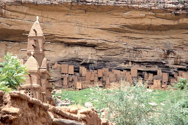 باندياغارا,مالي,منحدرات,منحدرات صخرية,جرف,الدوغون,قبائل,أقزام,التيلليم