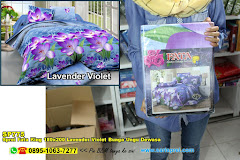 Sprei Fata King 180×200 Lavender Violet Bunga Ungu Dewasa