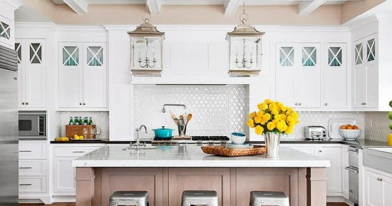 Gorgeous Small Kitchens Modern Crackle Paint Cabinets