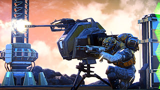 Planetside Arena PS3 Background