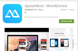 Chia sẻ ApowerMirror 2019 - Chiếu màn hình điện thoại lên máy tính tốt nhất