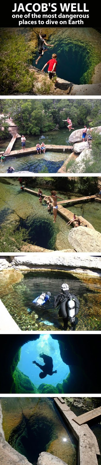 Jacobs Well, Texas! A paradise for divers...