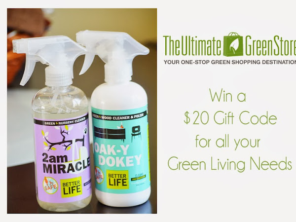 Green Cleaning with The Ultimate Green Store {Review & Giveaway}