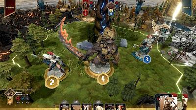 Blood Rage Digital Edition Game Screenshot 2