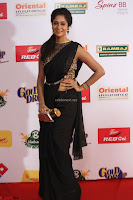 Sindhu looks fabulous in Black Saree designer choli at Mirchi Music Awards South 2017 ~  Exclusive Celebrities Galleries 022.JPG