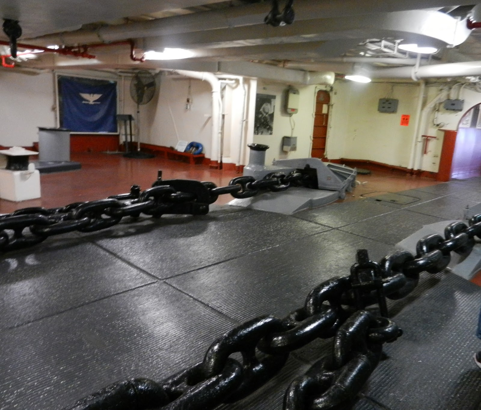 navy carrier chain pictures