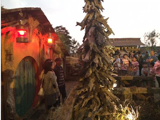 Wisata rumah hobbit