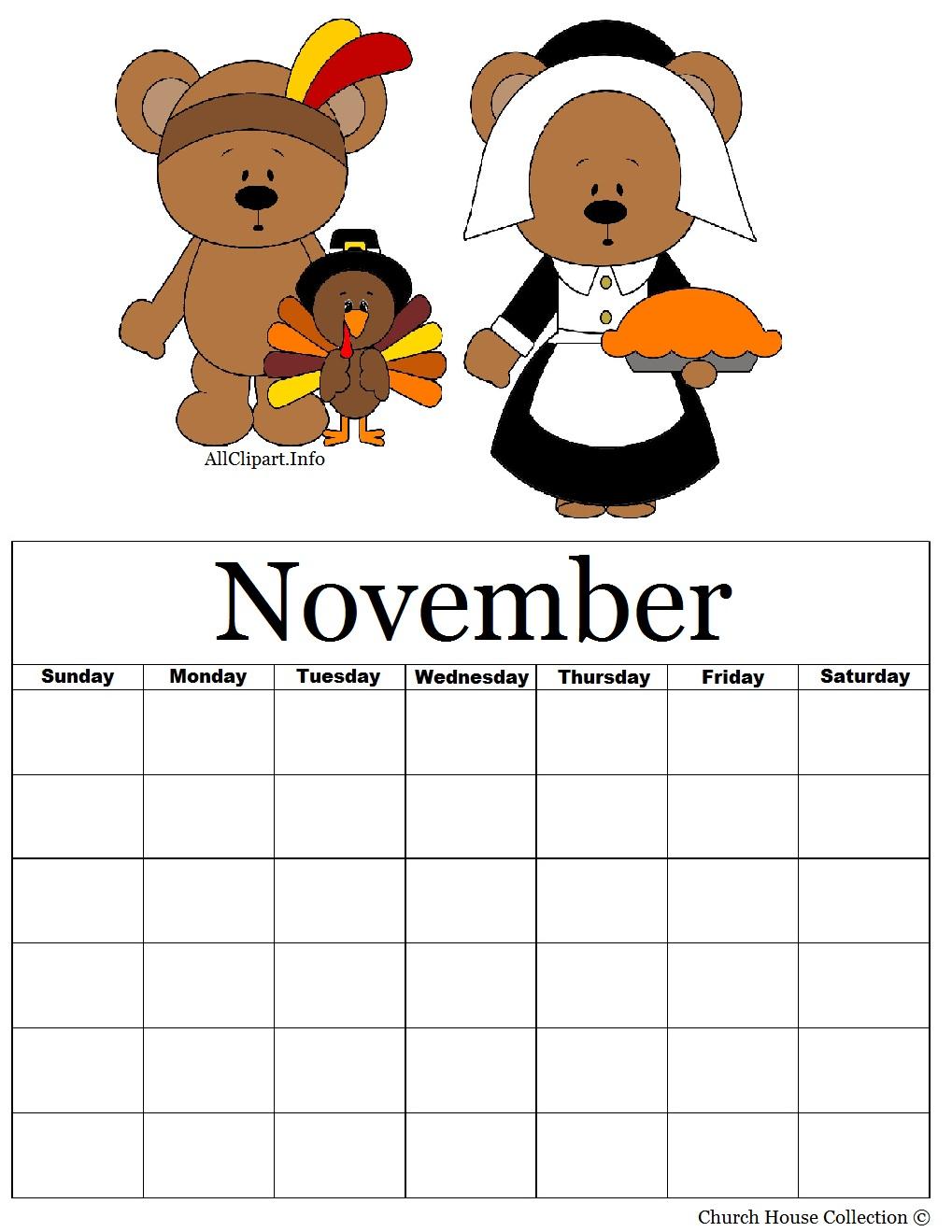 Thanksgiving Calendar Art : Church house collection pilgrim and indian printable
