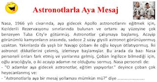 Astronotlarla Aya Mesaj - Karışık Fıkralar - Komikler Burada