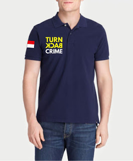 Kaos Polo Turn Back Crime