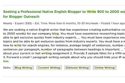 [Bukti] Blogger Sudah Menjadi Profesi (Tetapi Bukan di Indonesia Yah!)