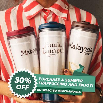 Starbucks Malaysia Merchandise Discount Offer Promo Price