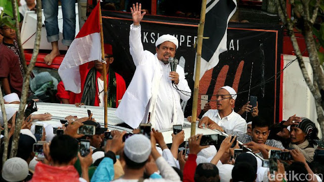 Habib Rizieq Masih Kumpulkan Informasi Soal TGB Dukung Jokowi