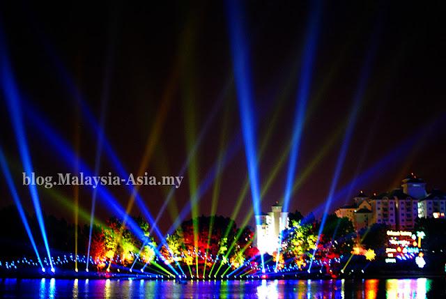 Light Laser Show Putrajaya