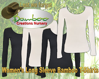 bamboo creations victoria now have womens long sleeve t-shirts on sale online