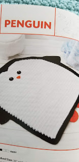 Crochet Penguin Rug Pattern for Kids bedroom