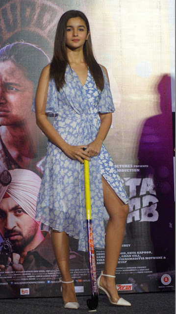Alia bhatt hot photo with Hockey Stick