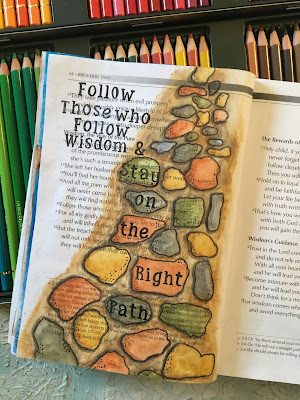 Bible Journaling Through the Proverbs- Proverbs2