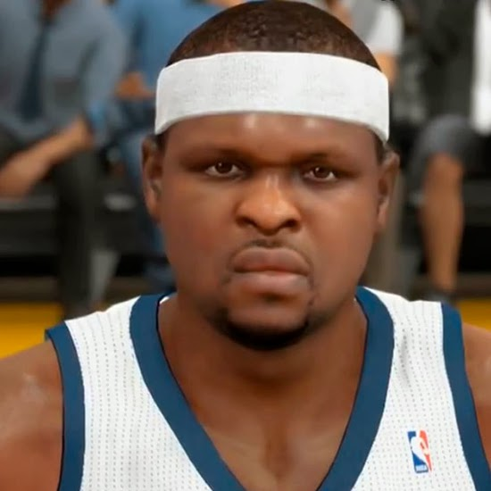 NBA 2K14 Zach Randolph Next-Gen Face Mod