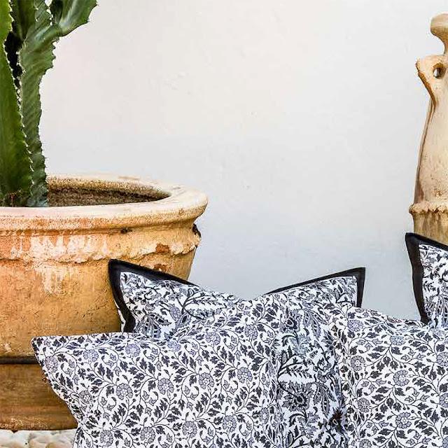 Vackra kollektionen Indian Summer från Chamois köper du online hos Longcoast Living.