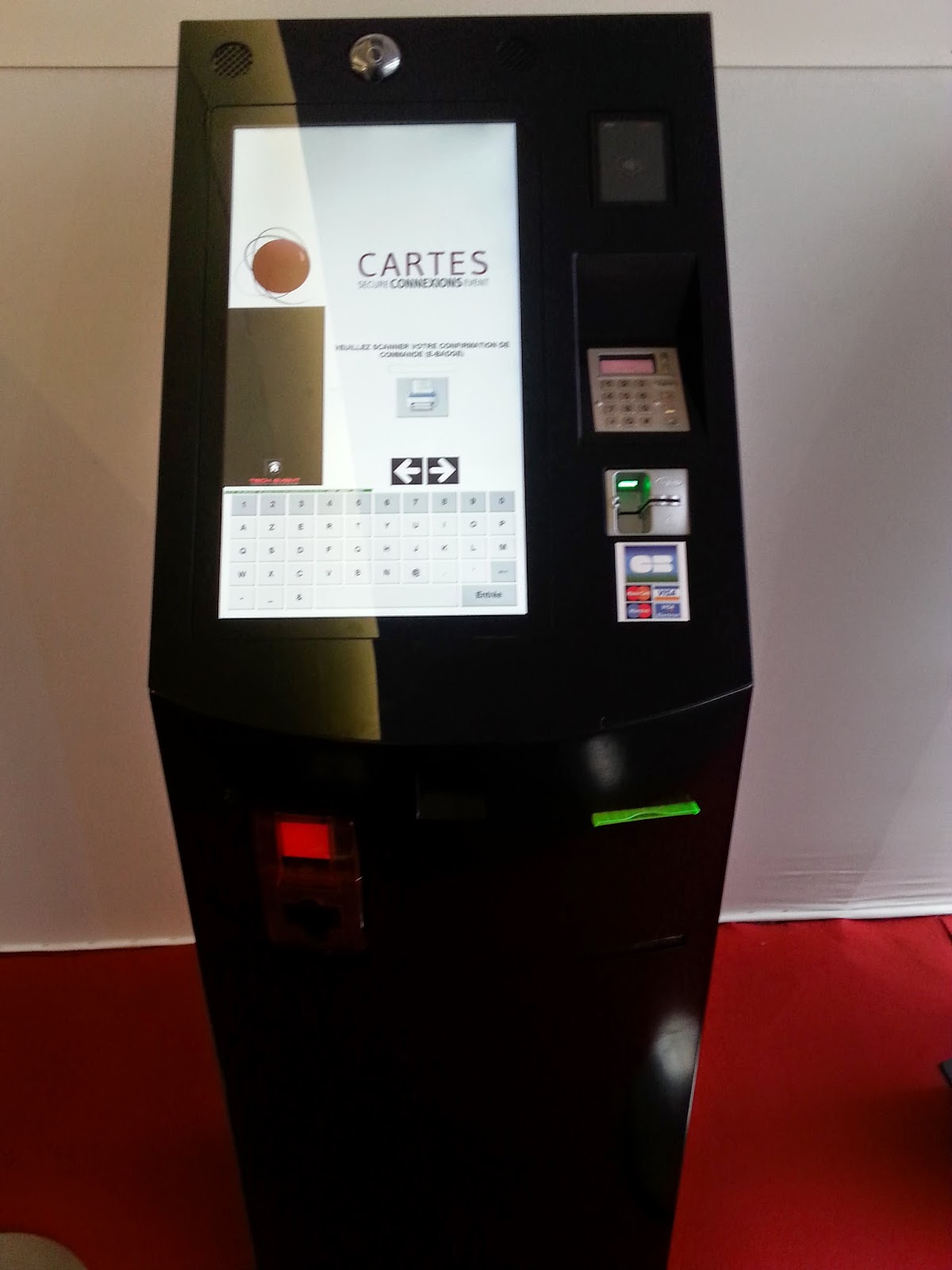 Sistemas biometricos en Cartes