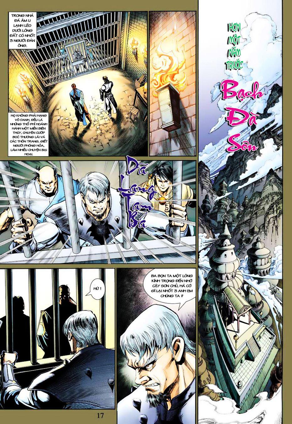 Anh Hùng Xạ Điêu anh hùng xạ đêu chap 35 trang 18