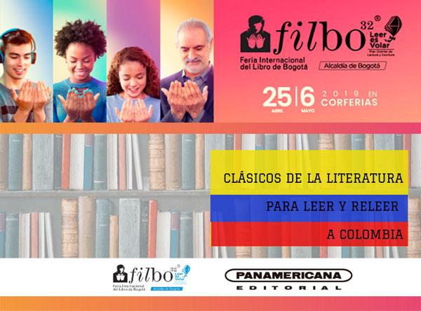 Clásicos-literatura-leer-releer-Colombia-Panamericana-Editorial-FILBo-2019-carreta-literaria