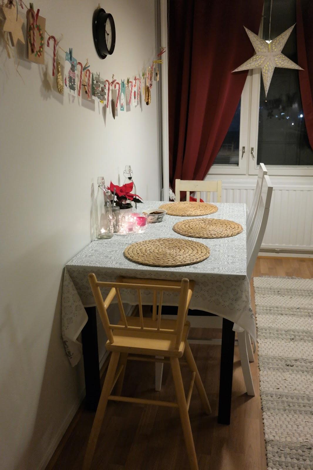 jouluinen keittiö