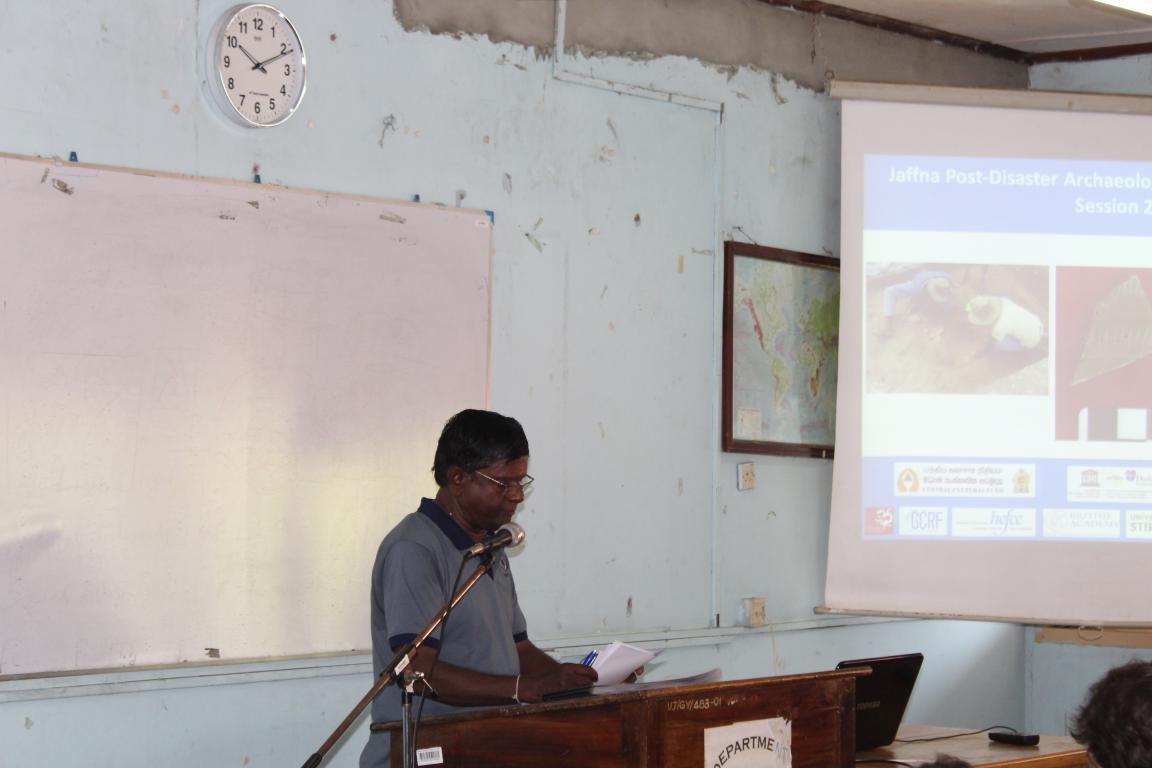 யாழ் கோட்டைப் பகுதியில் 2700 ஆண்டு பழமையான மனிதன் வாழ்ந்த சான்று