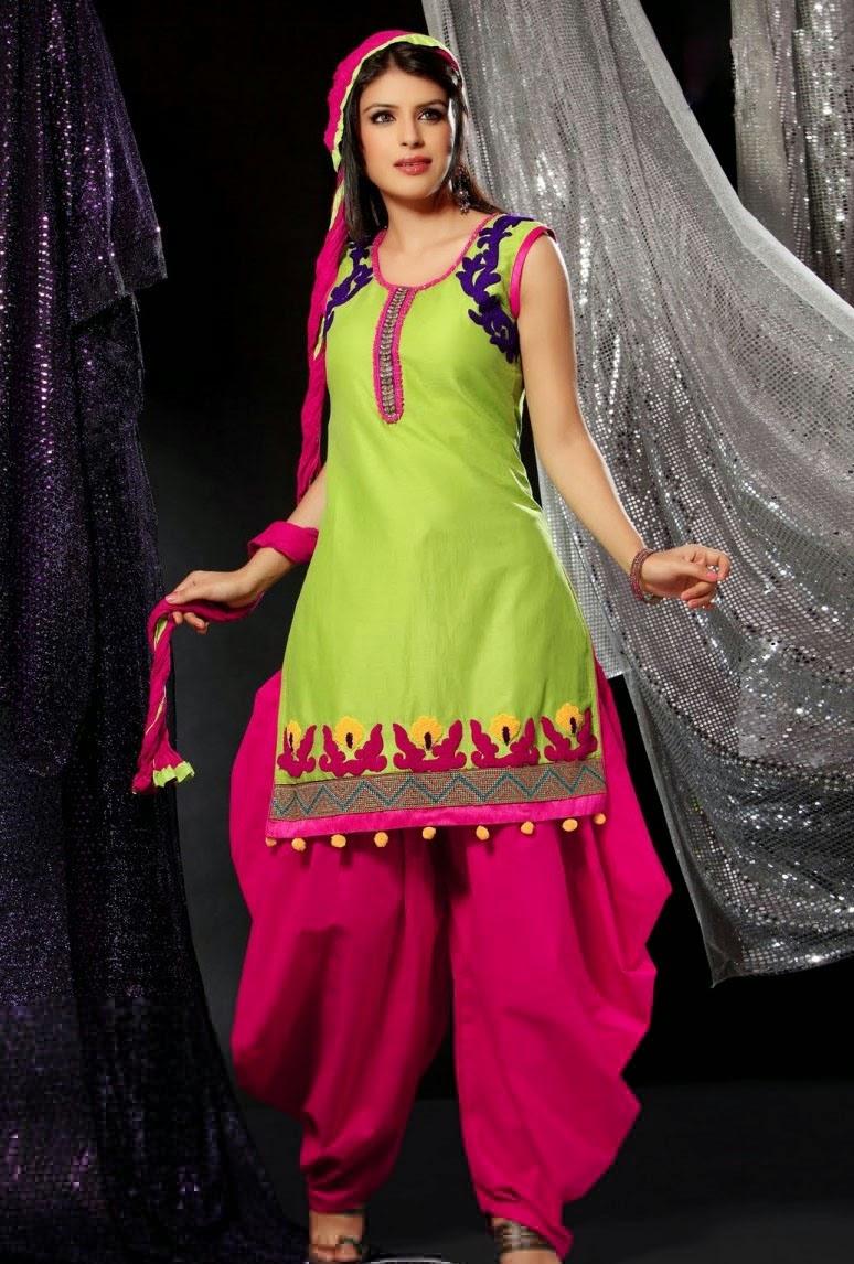 Punjab Trip Latest Trendy Punjabi Suits For Women 2015-6566