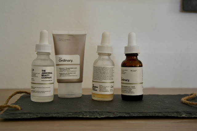 The Ordinary Fave Products